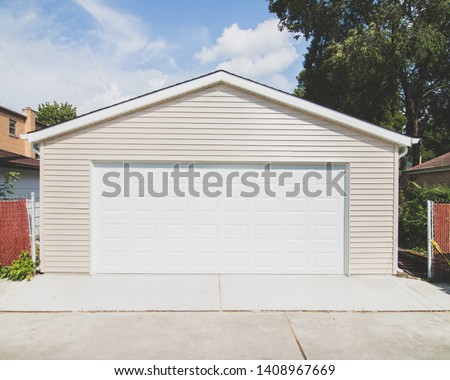 Newly Built Custom Built Garage  #1408967669