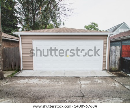 Newly Built Custom Built Garage  #1408967684