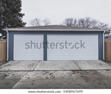 Newly Built Custom Built Garage  #1408967699