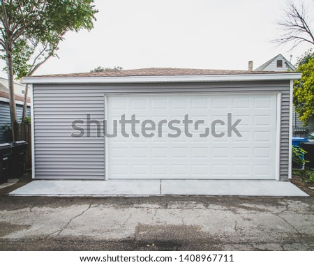 Newly Built Custom Built Garage  #1408967711