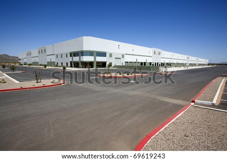 Newly constructed Distribution Center