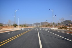 newly highway road
