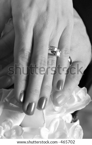 holding hands black and white. couple holding hands on