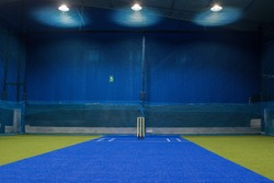 newly opened cricket indoor stadium