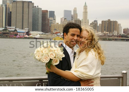Newly weds  in NY