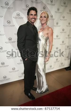 NEWPORT BEACH, CA - OCTOBER 22: Don Diamont arrives at Beckstrand Cancer Foundation's 8th Annual Diamond & Pearl Ball at Balboa Bay Club & Resort on October 22, 2011 in Newport Beach, CA. - stock photo