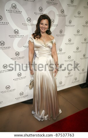NEWPORT BEACH, CA - OCTOBER 22: Fran Drescher arrives at Beckstrand Cancer Foundation's 8th Annual Diamond & Pearl Ball at Balboa Bay Club & Resort on October 22, 2011 in Newport Beach, CA.