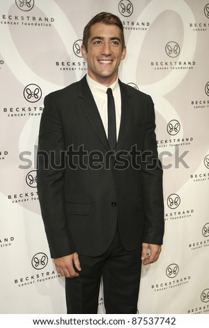 NEWPORT BEACH, CA - OCTOBER 22: Jonathan Togo arrives at Beckstrand Cancer Foundation's 8th Annual Diamond & Pearl Ball at Balboa Bay Club & Resort on October 22, 2011 in Newport Beach, CA.