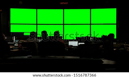 Photo of  News Broadcast Control Room Still 1