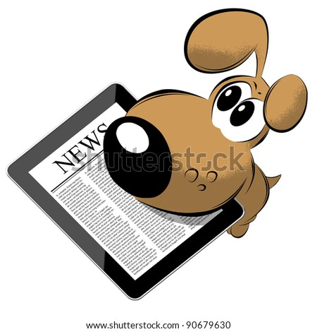 News on generic Tablet PC with dog