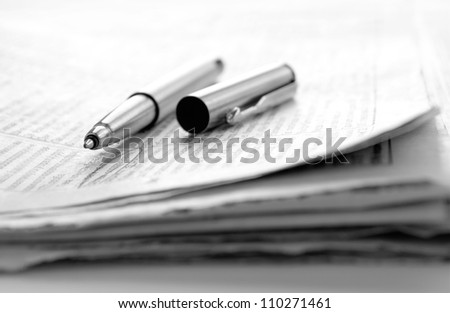 Newspaper and news accounts to handle