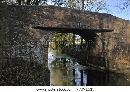 Newtown Roving Bridge, Stroudwater Navigation Canal, Gloucestershire Canal currently under restoration
