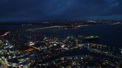 NewZealand Auckland skycity night view