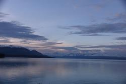 NewZealand Landscape - lake at dusk