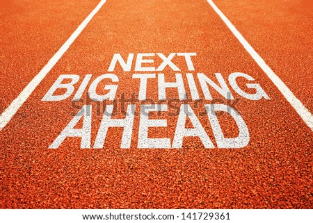 Next big thing ahead on athletics all weather running track
