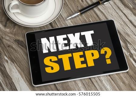 next step concept #576015505