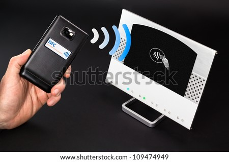 NFC payment technology The new way to pay. NFC payments via mobile phone