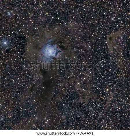 NGC 7023 Iris Nebula in Cepheus