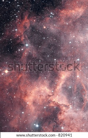 NGC2337 star nebula  file contains grain