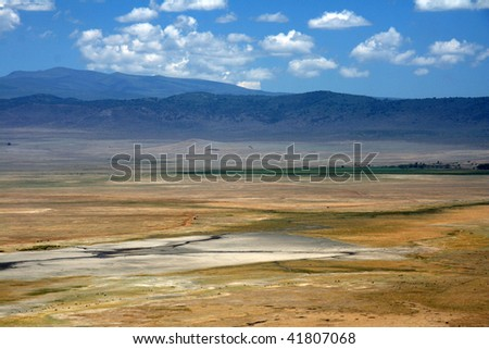 Ngorongoro Crater, Nature Reserve in Tanzania, East Africa