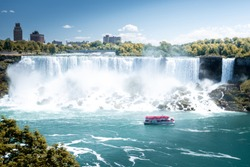 Niagara American falls, New York, USA