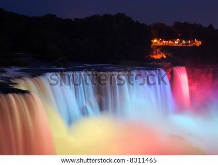 Niagara Falls at the night