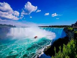 Niagara falls canadian side taken with huawei p30 pro