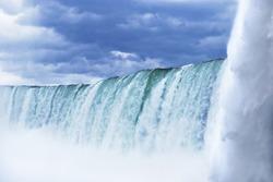 Niagara Falls from up close