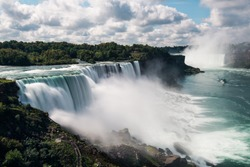 Niagara Falls from USA Landscape View