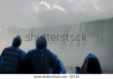 Niagara Falls from very close.