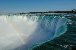 Niagara Falls, horseshoe and Rainbow