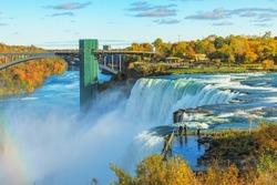 Niagara Falls in Autumn