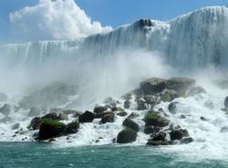 Niagara falls in the USA