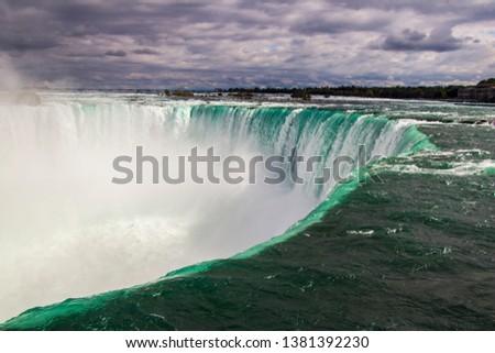 Niagara Falls waterfalls Canada Ontario #1381392230
