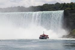 Niagarafalls at New York USA