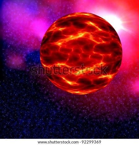Nibiru in space