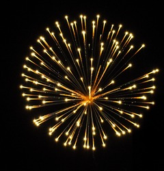 Nice and colorful fireworks