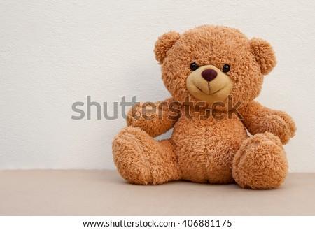 Stock Photo Nice and cute teddy bear
