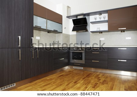 Nice and modern kitchen
