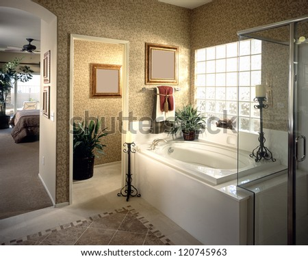 Nice Bathroom Architecture Stock Images,Photos of Living room, Bathroom,Kitchen,Be d room, Office, Interior photography.