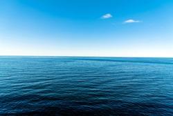 nice blue sea and sky