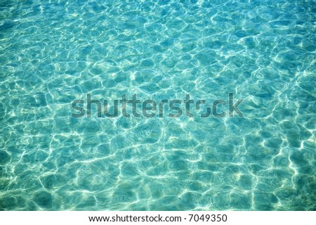 Nice blue water ripples in the Indian Ocean
