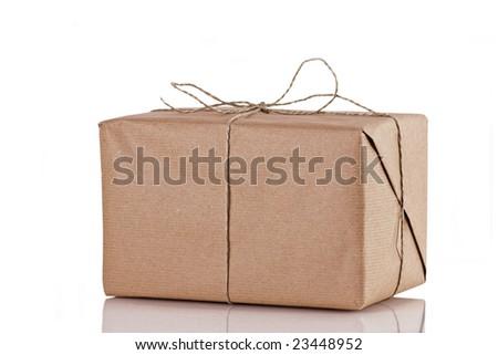 Nice cardboard Brown Parcel