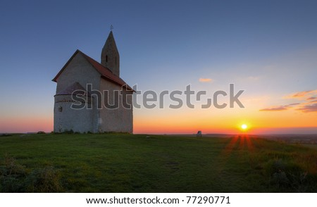 Nice Catholic Church in eastern Europe