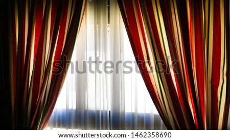 Nice curtains of a nice house #1462358690