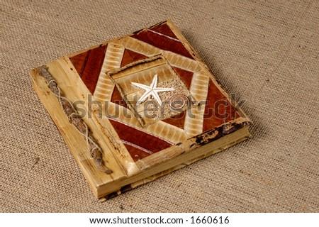 Nice decorative photo album - stock photo