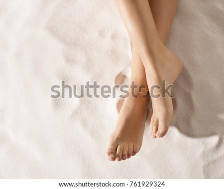 nice feet on the sand #761929324