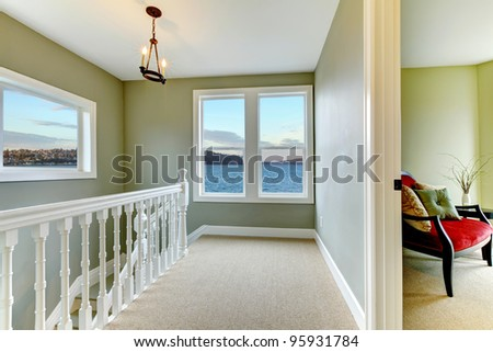 Nice home interior with staircase and hallway stock photo 95931784 shutterstock - Nice interior pic ...