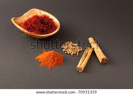 Nice image of mixed spices