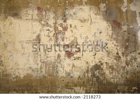 Nice Italian wall found in Siena -Tuscany - Italy.